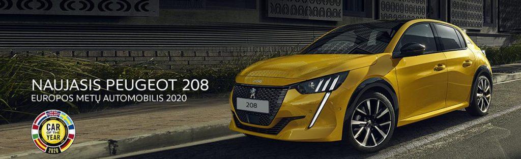 METŲ AUTOMOBILIS 2020 – 208