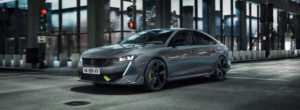 """""""Peugeot"""" pristato savo galingiausią automobilį 508 PSE"""