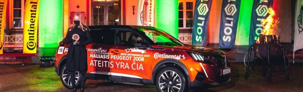 """""""Peugeot 2008"""" Lietuvoje pripažintas geriausiu miesto krosoveriu"""